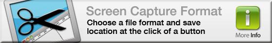 Screen Capture Format - More info